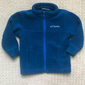 Toddler Boys Columbia Jacket - Blue